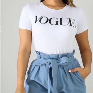 Vogue White Top